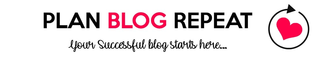 Plan Blog Repeat